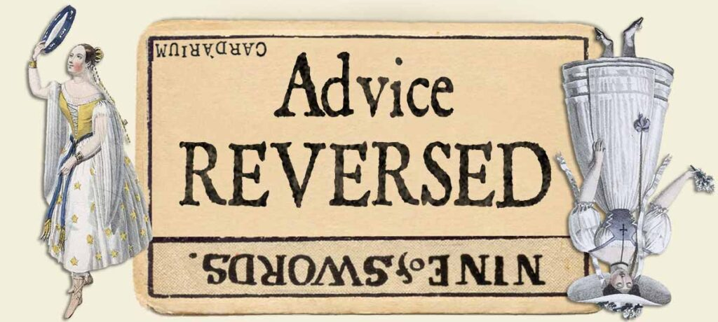 9 of swords reversed advice yes or no