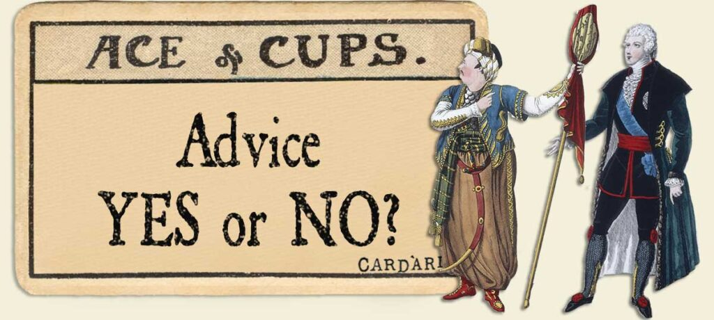 Ace of cups Advice Yes or No