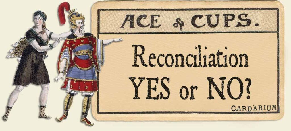 Ace of cups reconciliation yes or no