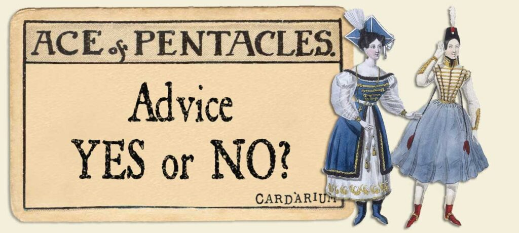 Ace of pentacles Advice Yes or No