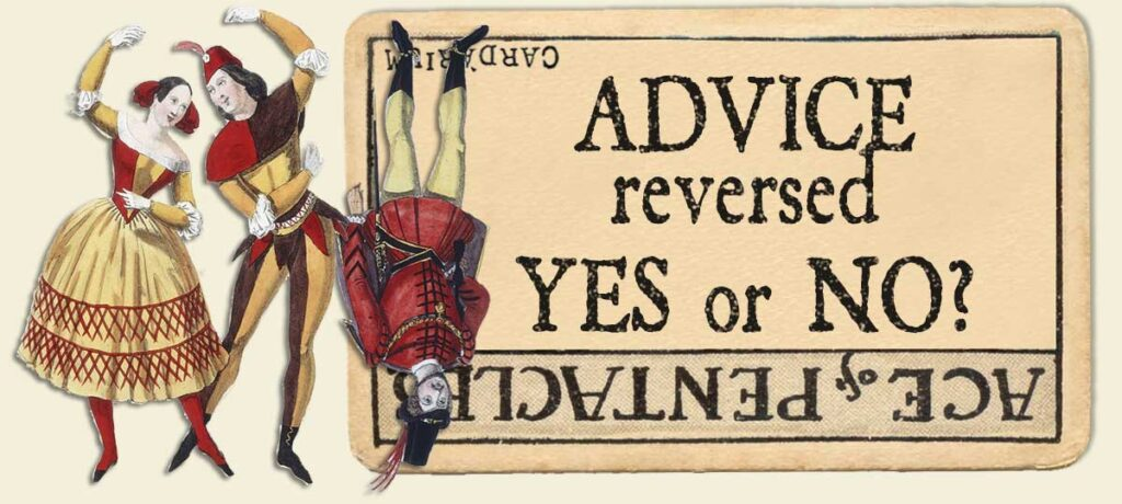 Ace of pentacles advice reversed yes or no
