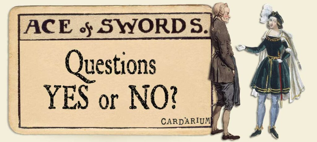 Ace of swords Yes or No Questions