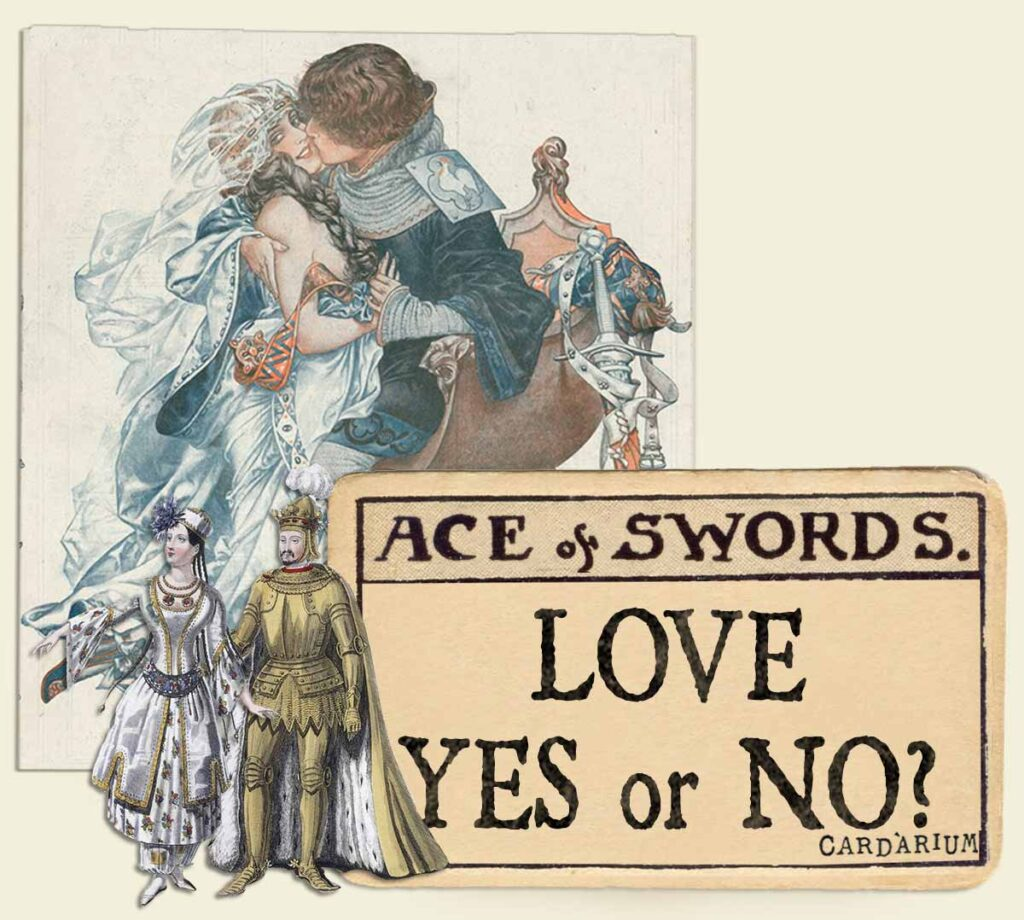 Ace of swords tarot card meaning for love yes or no
