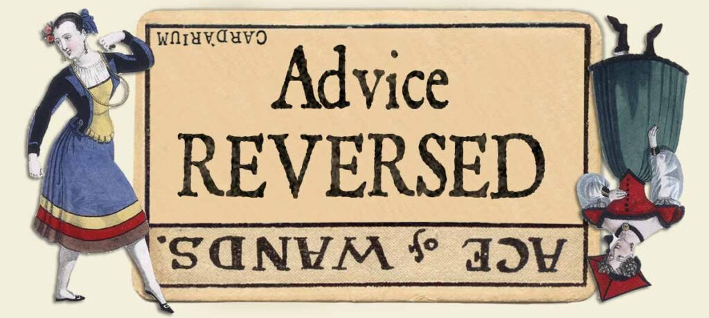 Ace of wands reversed advice yes or no
