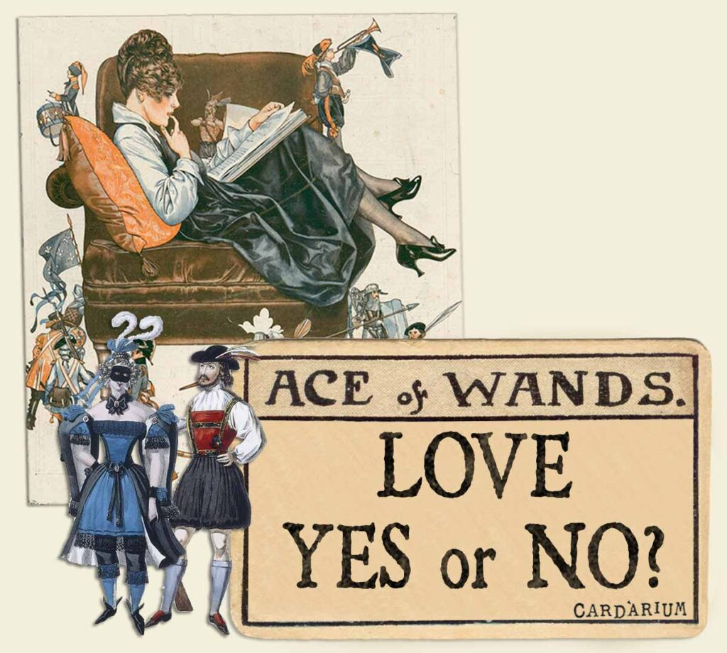 Ace of wands tarot card meaning for love yes or no