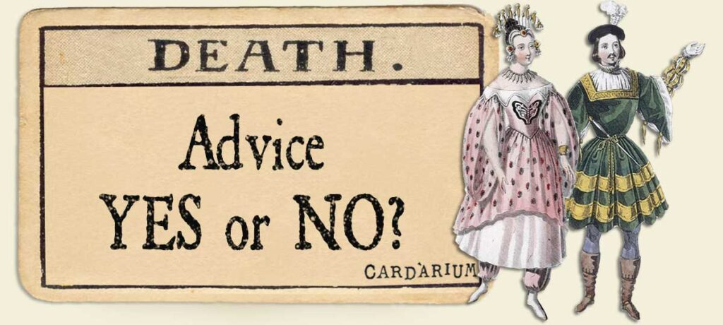 Death Advice Yes or No