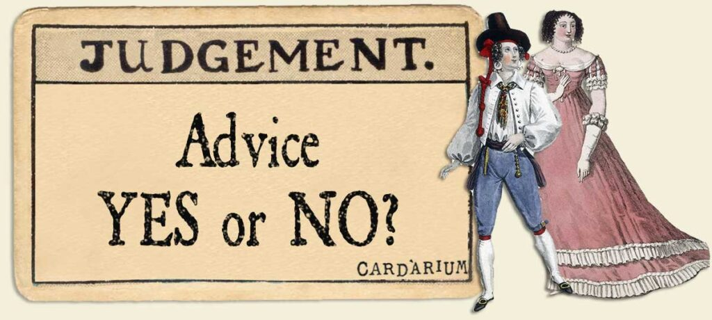 Judgement Advice Yes or No