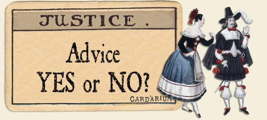 Justice Advice Yes or No