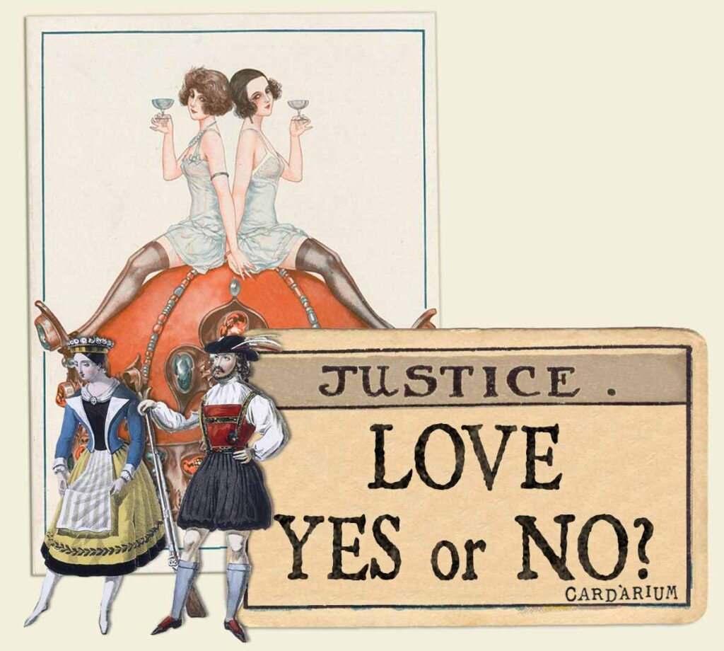 Justice tarot card meaning for love yes or no