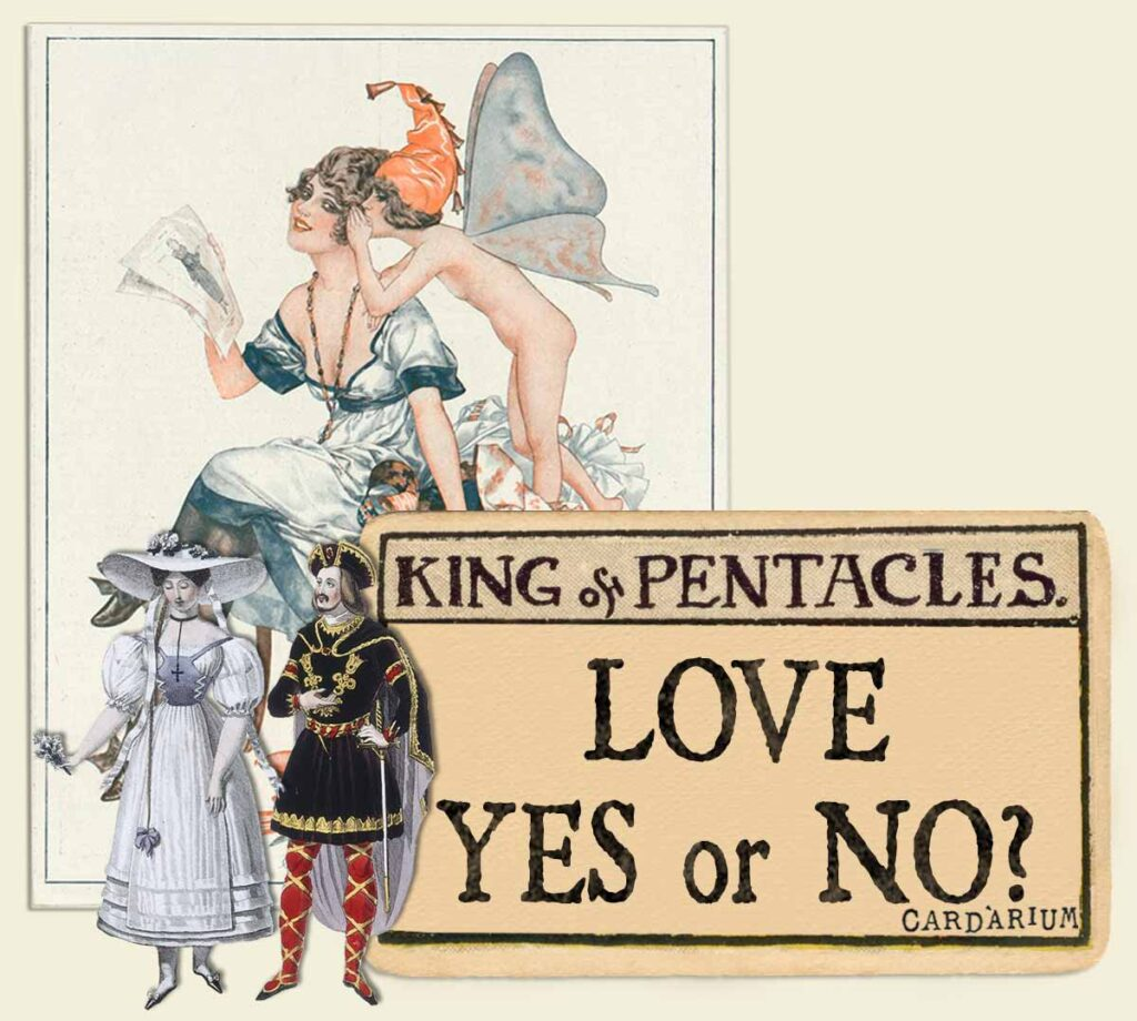 King of pentacles tarot card meaning for love yes or no