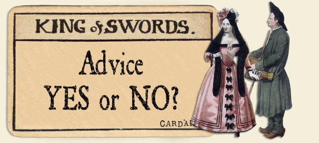 King of swords Advice Yes or No