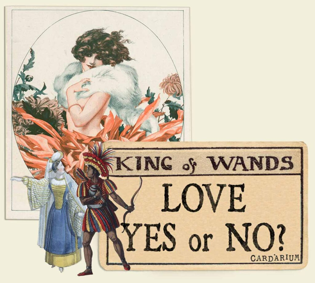 King of wands tarot card meaning for love yes or no