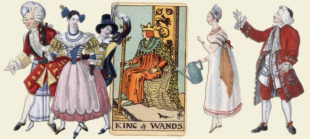 King of wands tarot card meaning yes or no