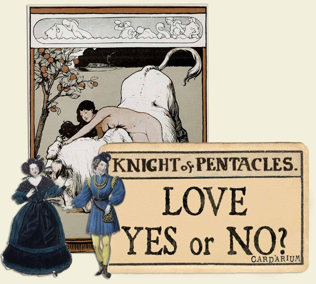 Knight of pentacles tarot card meaning for love yes or no