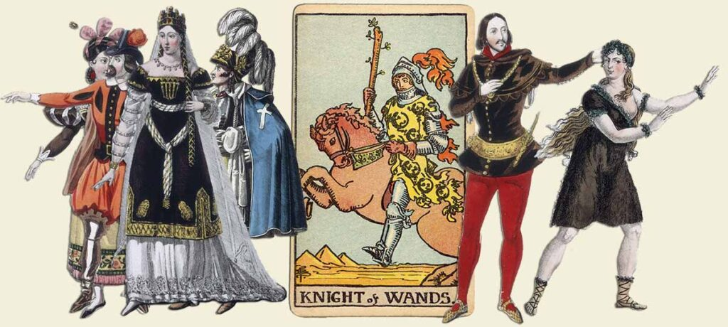 Knight of wands tarot card meaning yes or no 1