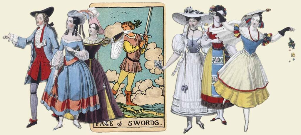 Page of swords tarot card meaning yes or no