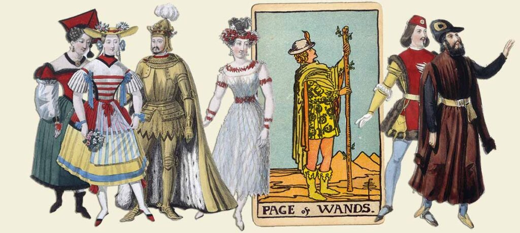 Page of wands tarot card meaning yes or no