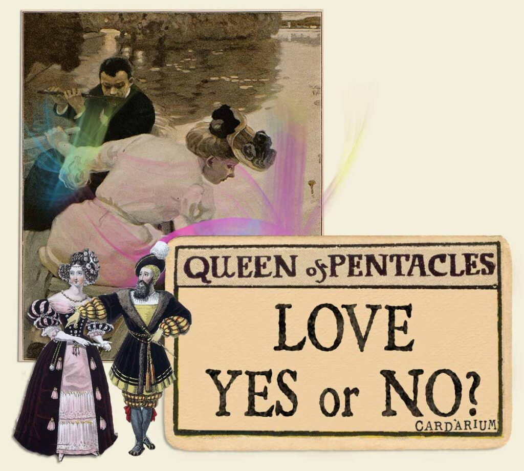 Queen of pentacles tarot card meaning for love yes or no
