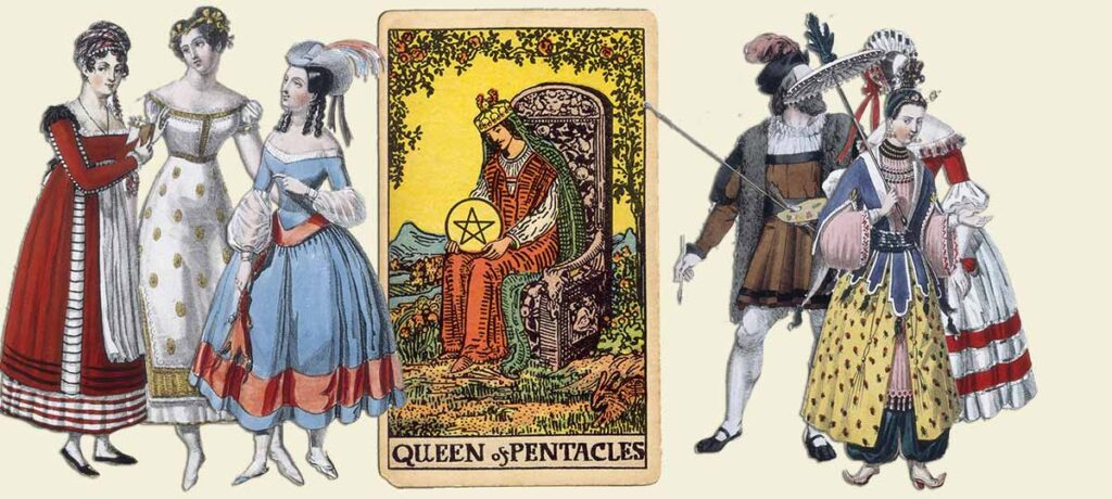Queen of pentacles tarot card meaning yes or no