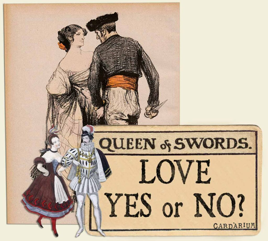 Queen of swords tarot card meaning for love yes or no