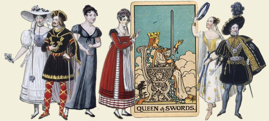Queen of swords tarot card meaning yes or no