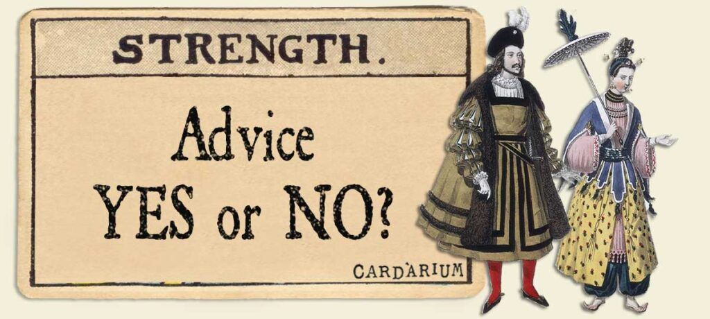 Strength Advice Yes or No