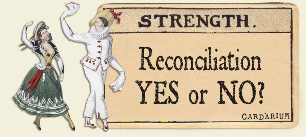 Strength reconciliation yes or no
