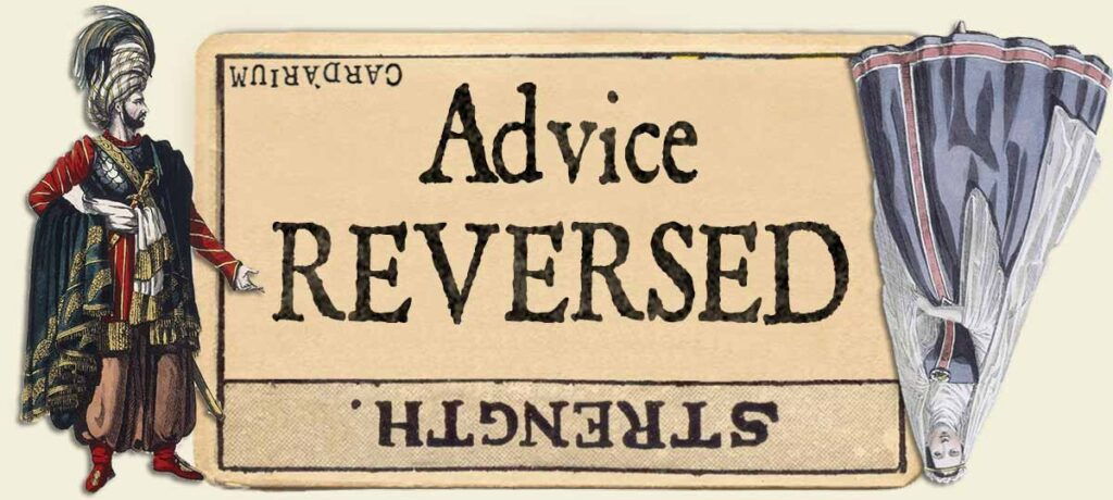 Strength reversed advice yes or no