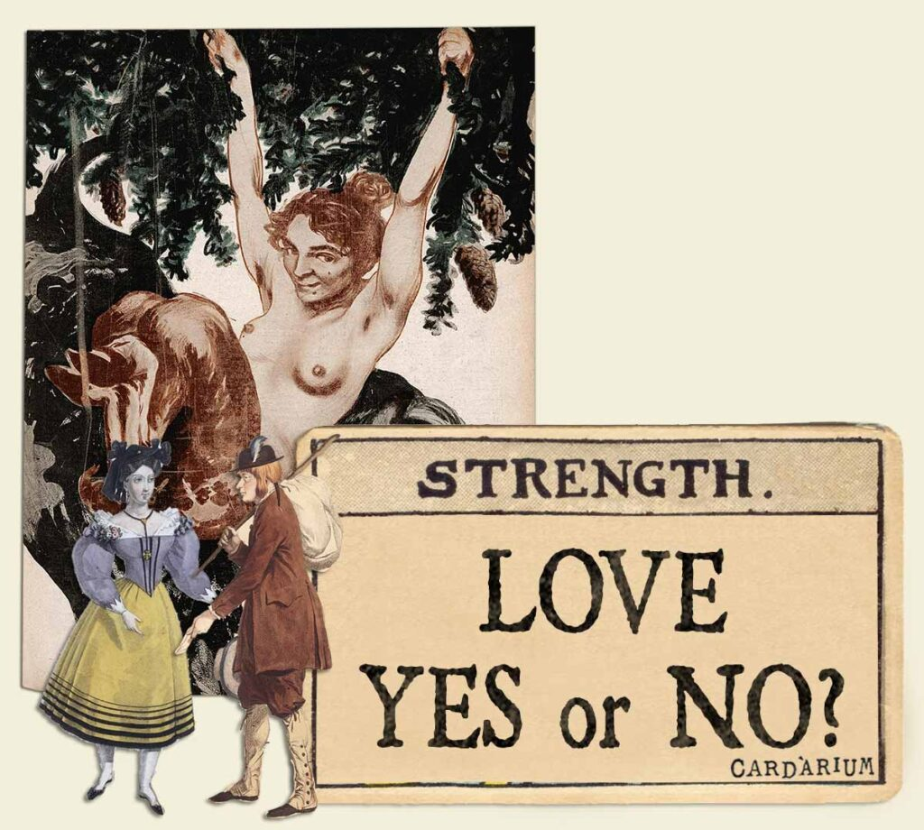 Strength tarot card meaning for love yes or no