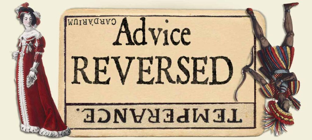 Temperance reversed advice yes or no