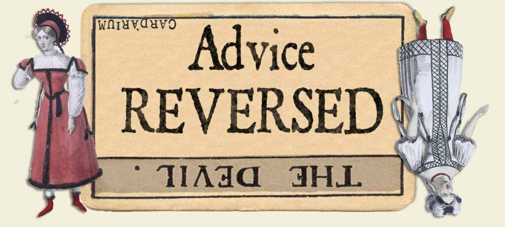 The Devil reversed advice yes or no