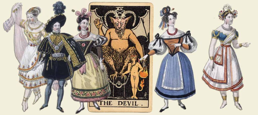 The Devil tarot card meaning yes or no