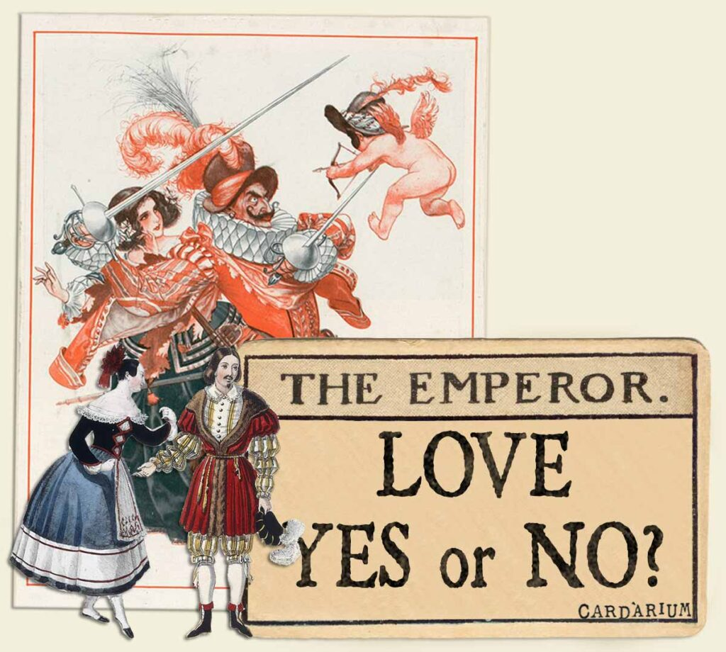 The Emperor tarot card meaning for love yes or no