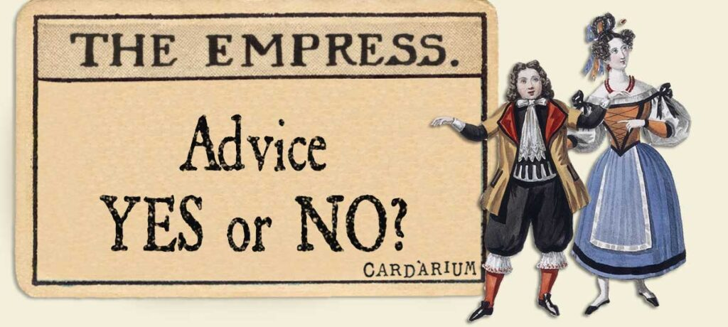 The Empress Advice Yes or No