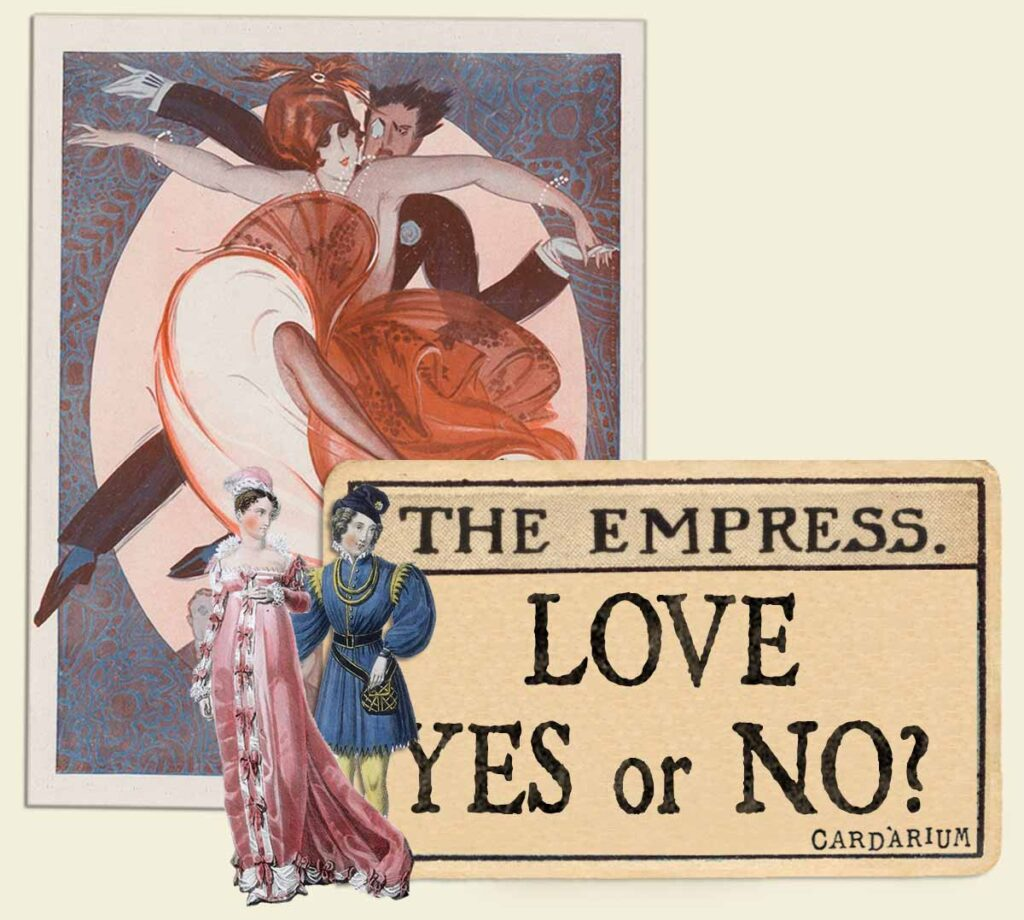 The Empress tarot card meaning for love yes or no