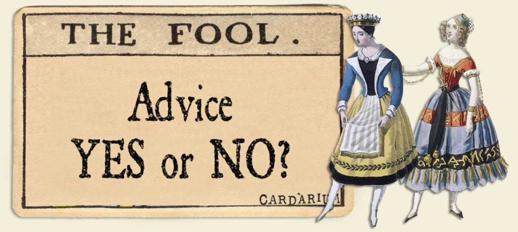 The Fool Advice Yes or No