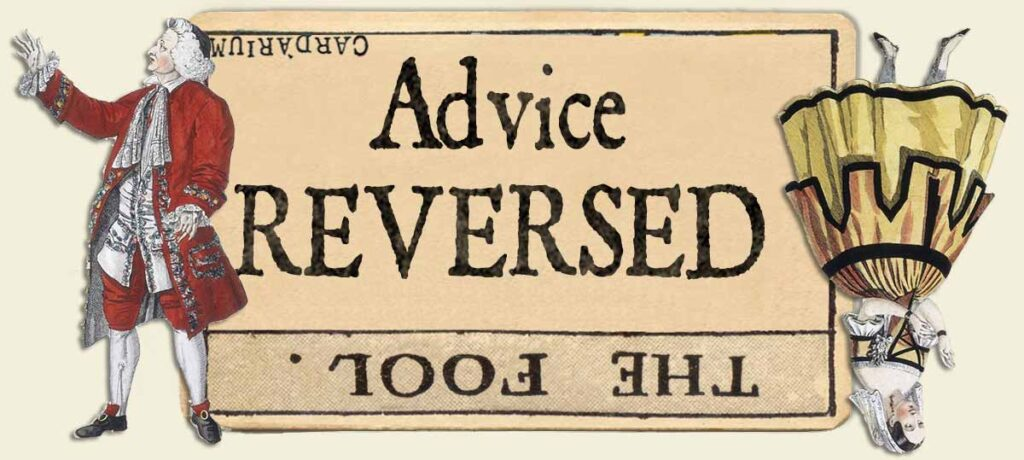 The Fool reversed advice yes or no