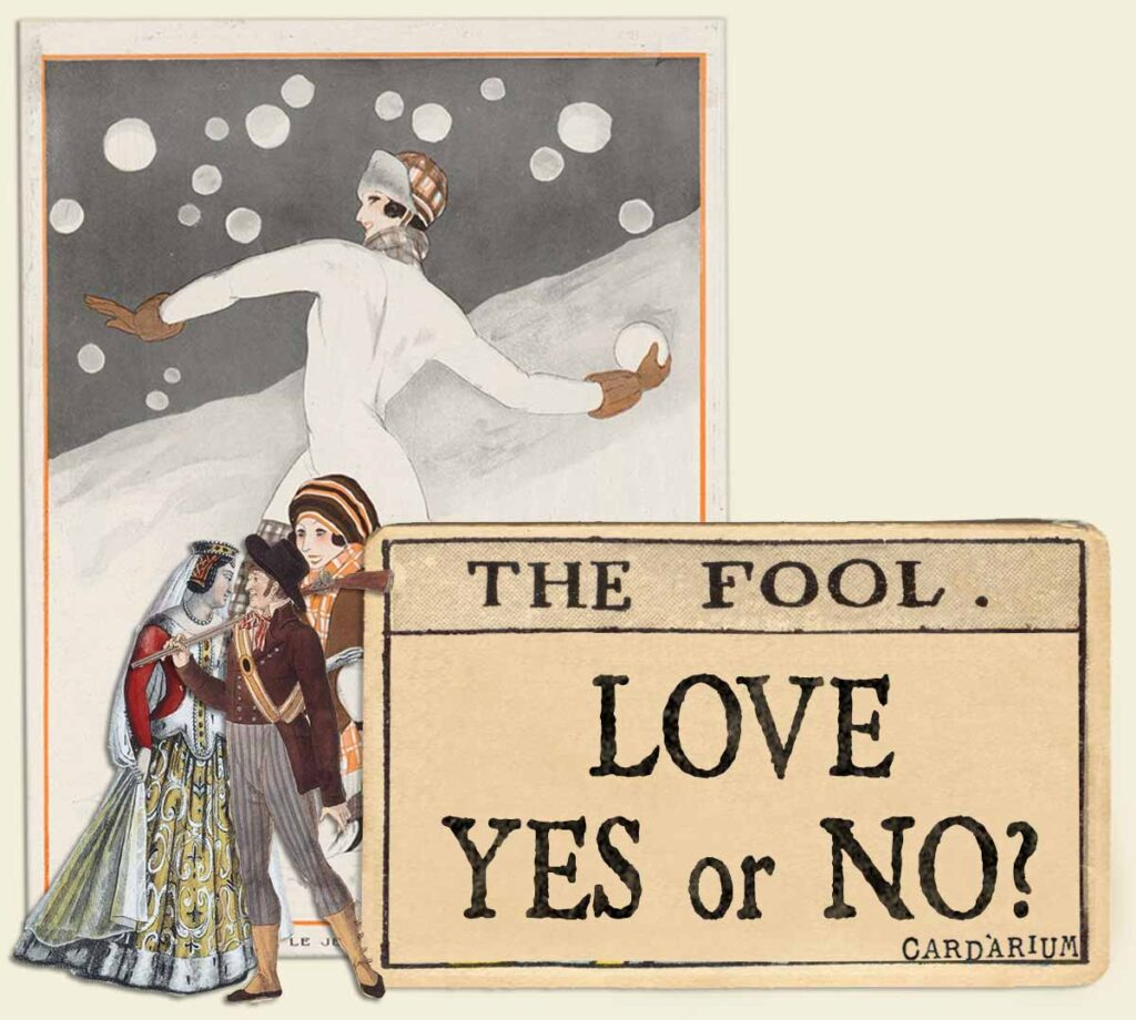 The Fool tarot card meaning for love yes or no