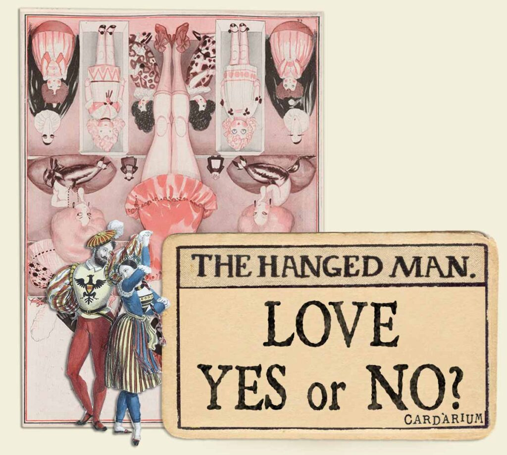 The Hanged Man tarot card meaning for love yes or no