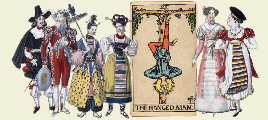 The Hanged Man tarot card meaning yes or no