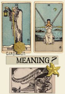 The Hermit and Two Of Swords