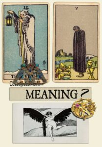 The Hermit and Five Of Cups