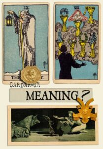 The Hermit and Seven Of Cups