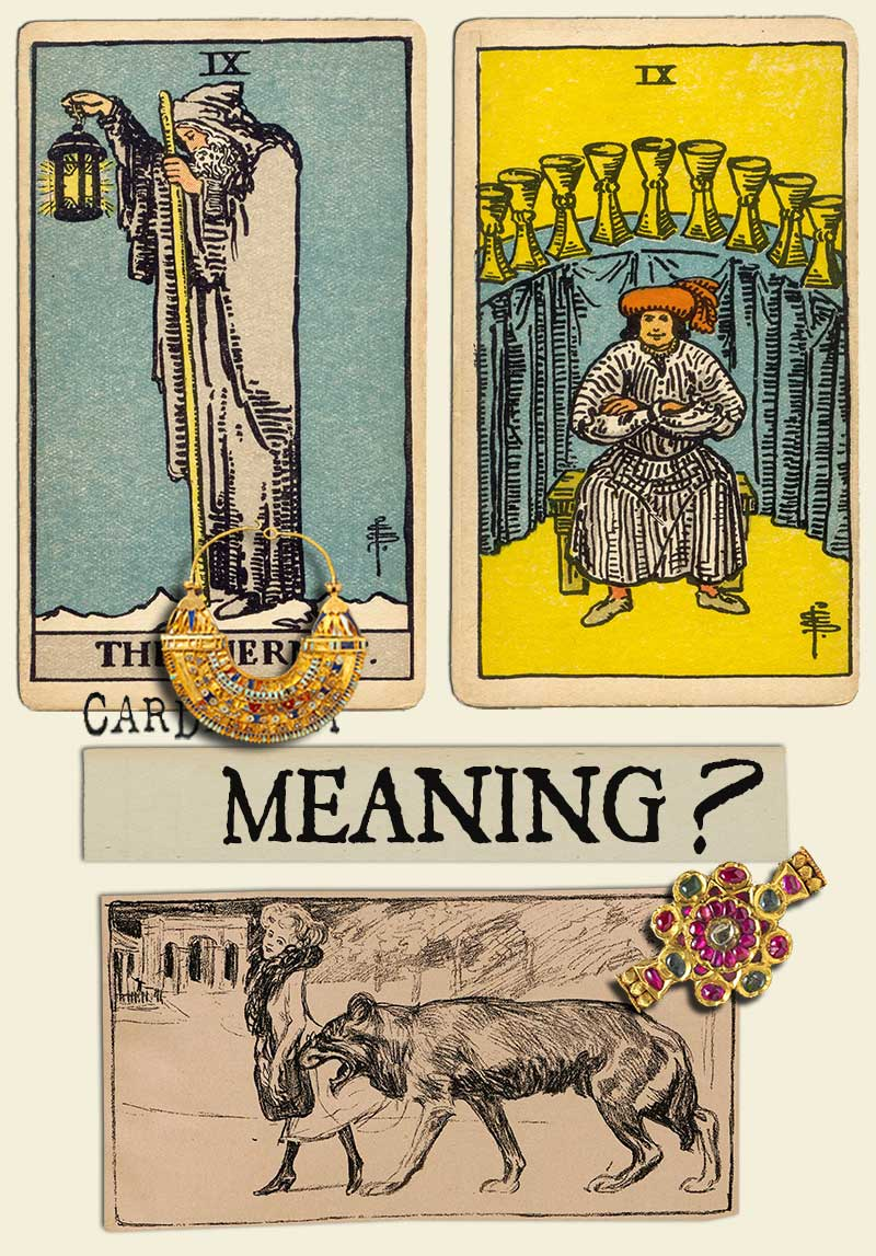 The Hermit and Nine Of Cups