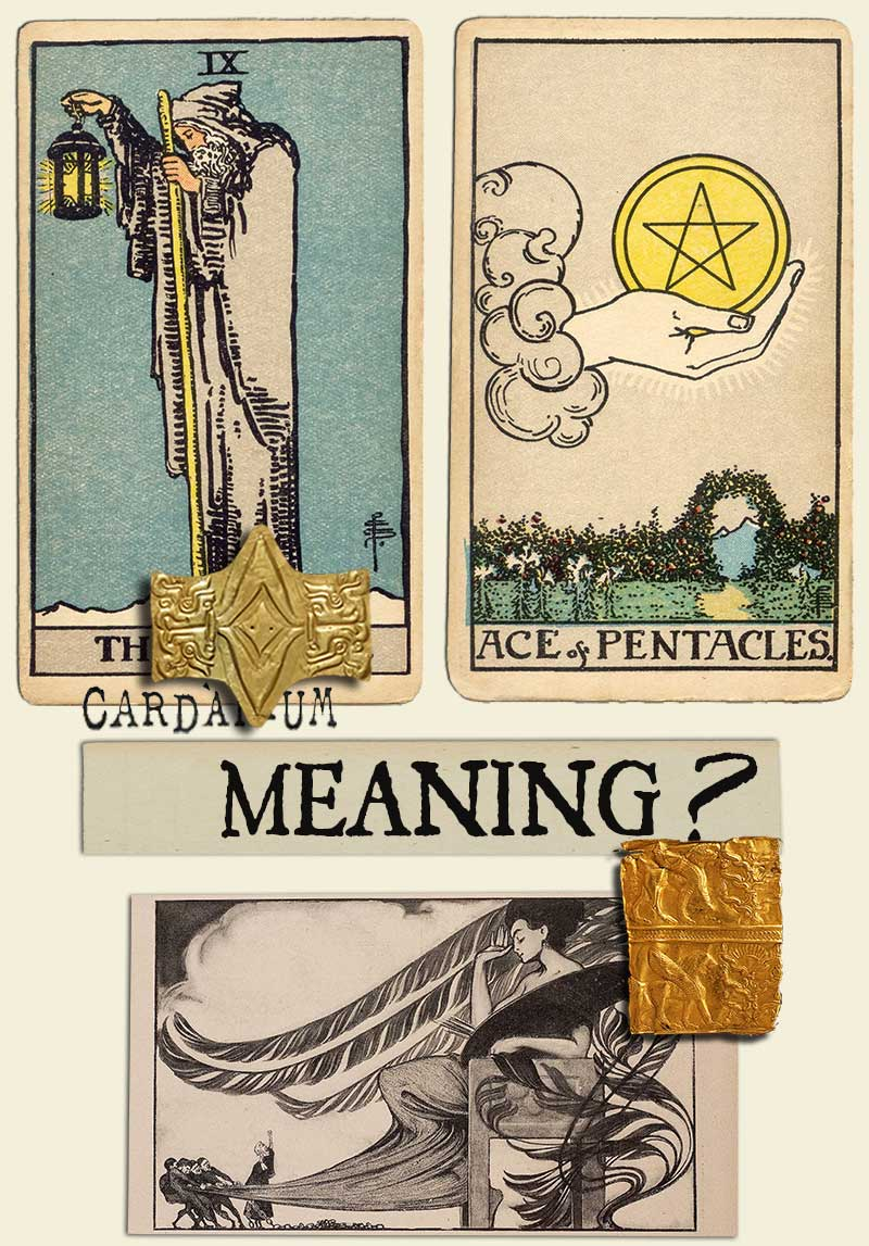 The Hermit and Ace Of Pentacles