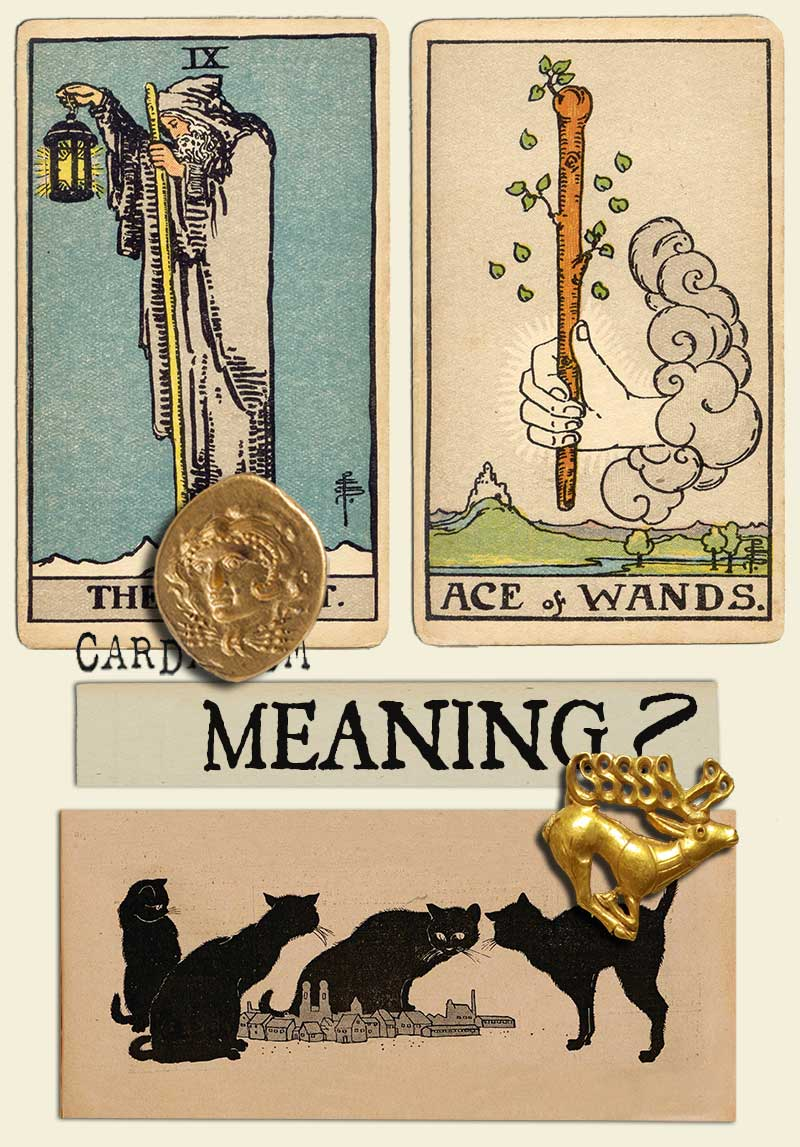 The Hermit and Ace Of Wands
