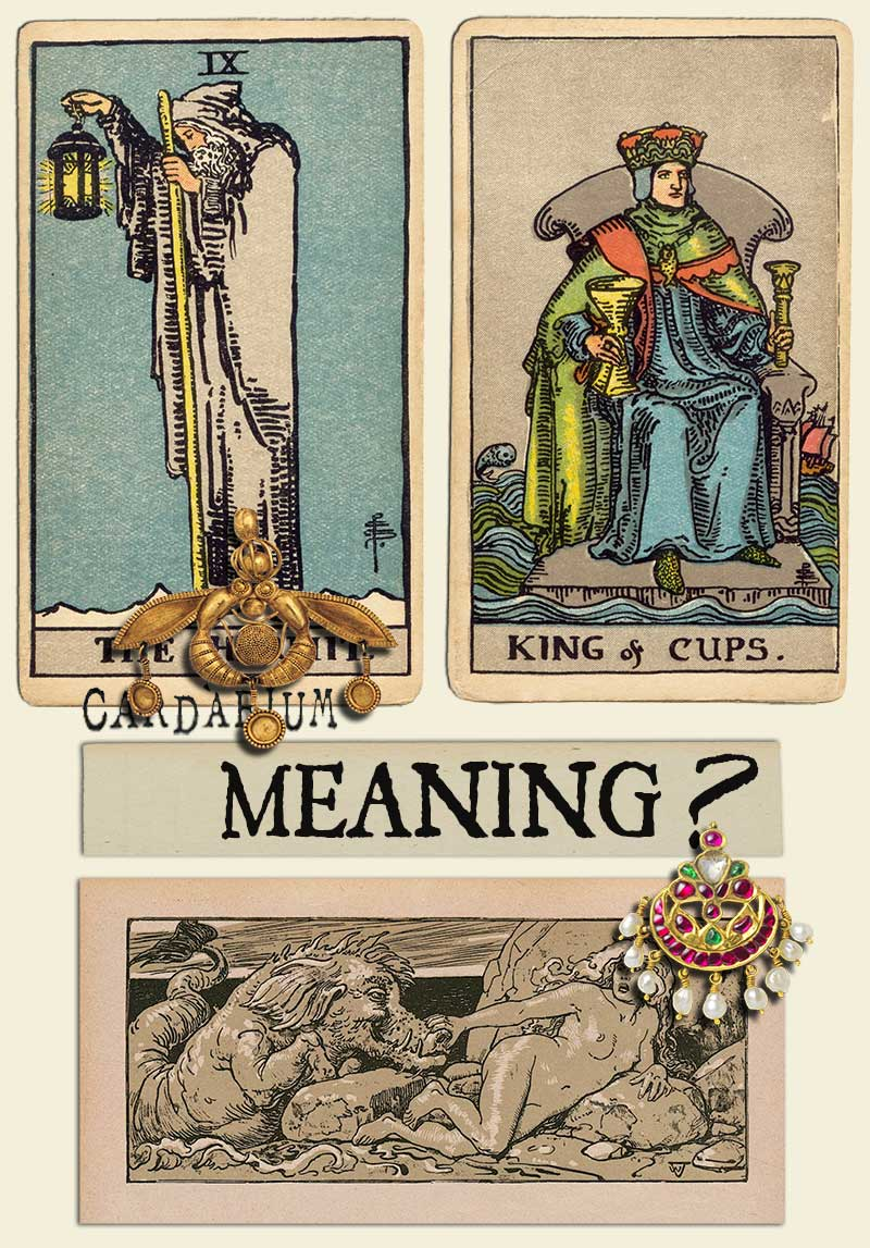 The Hermit and King Of Cups