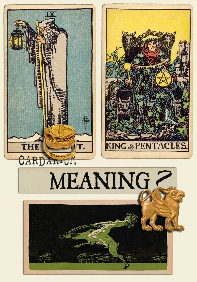 The Hermit and King Of Pentacles
