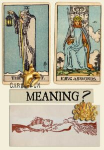 The Hermit and King Of Swords