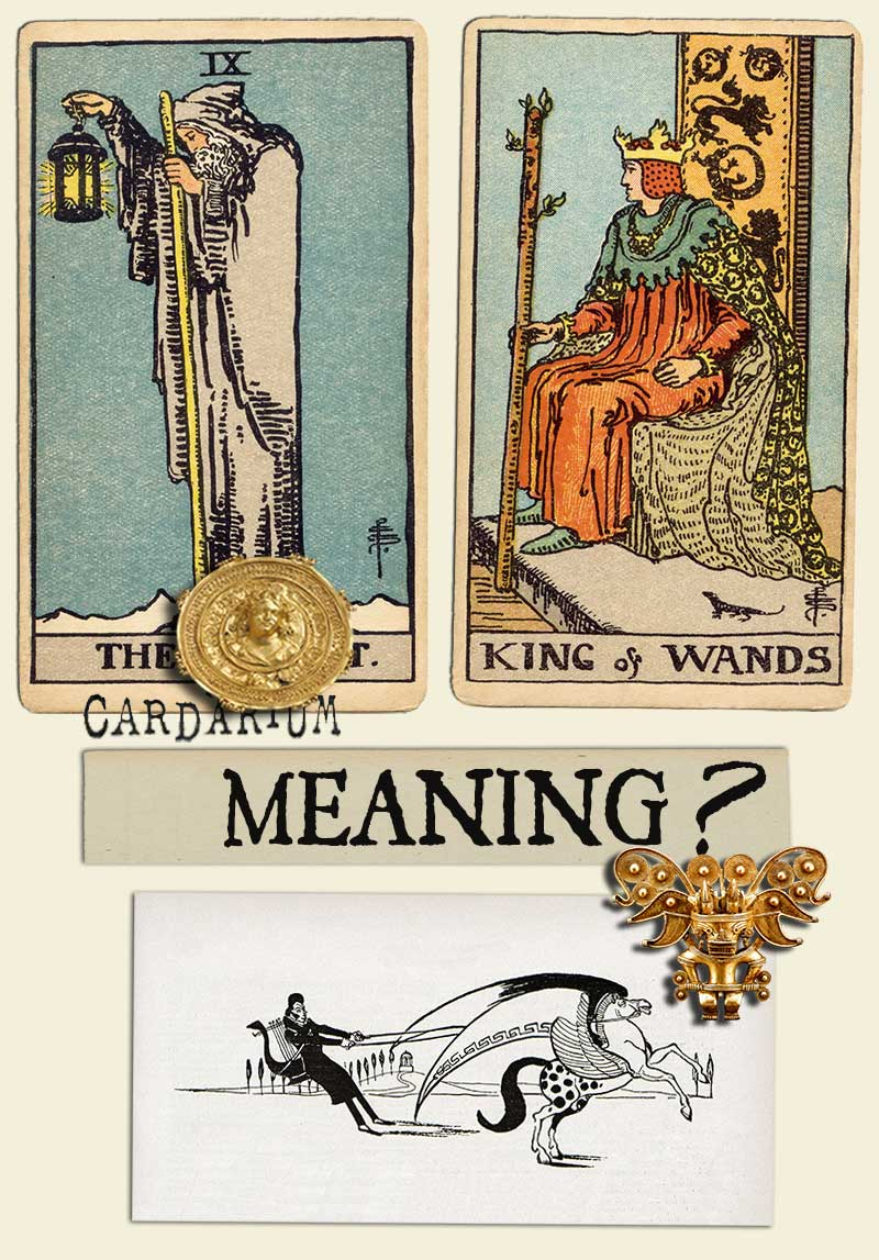 The Hermit and King Of Wands